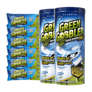 Green Gobbler Powdered Drain Opening Pac's