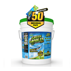 Green Gobbler Drain Opening Pacs - 5 gallon Pail (50 Pacs)
