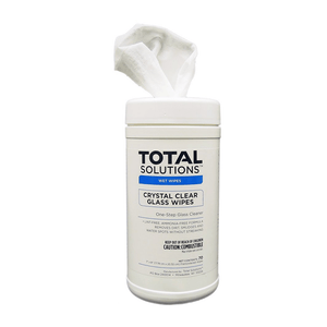 TS Crystal-Clear Glass Wipes