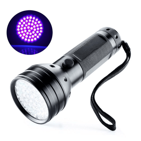 UV Ultraviolet LED flashlight Blacklight for Tracing Dye