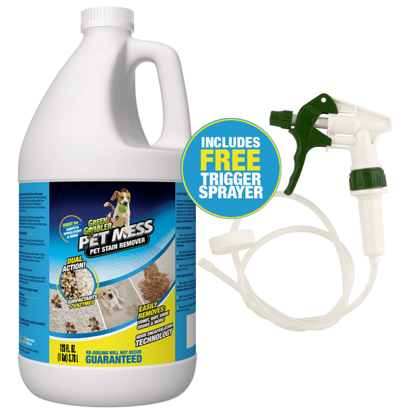 Green Gobbler Pet Mess Pet Stain Remover