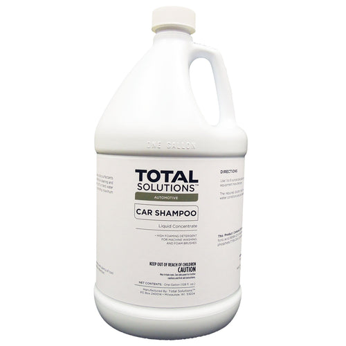 Car Shampoo, Concentrated foaming detergent - 4 Gallons