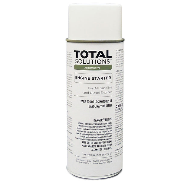 Engine Starter Aerosol - Provides quick starts in cold, damp weather - 12 Can Case