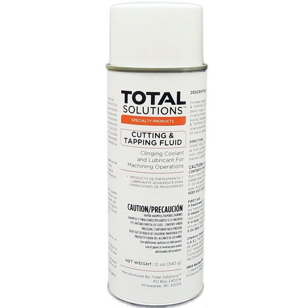 Cutting & Tapping Fluid- Clinging lubricant for cutting bits , 12 Can Case