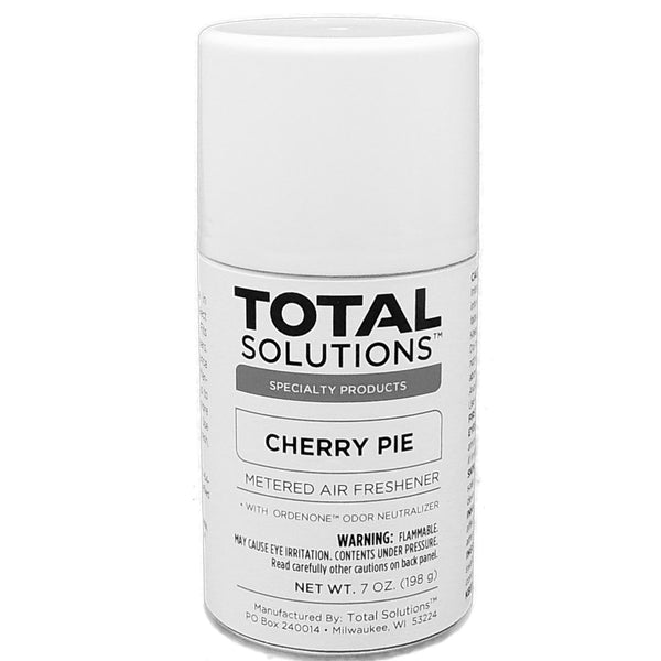 Metered Air Freshener- Cherry Pie, Neutralizes unpleasant odors with Ordenone - 12 Can Case