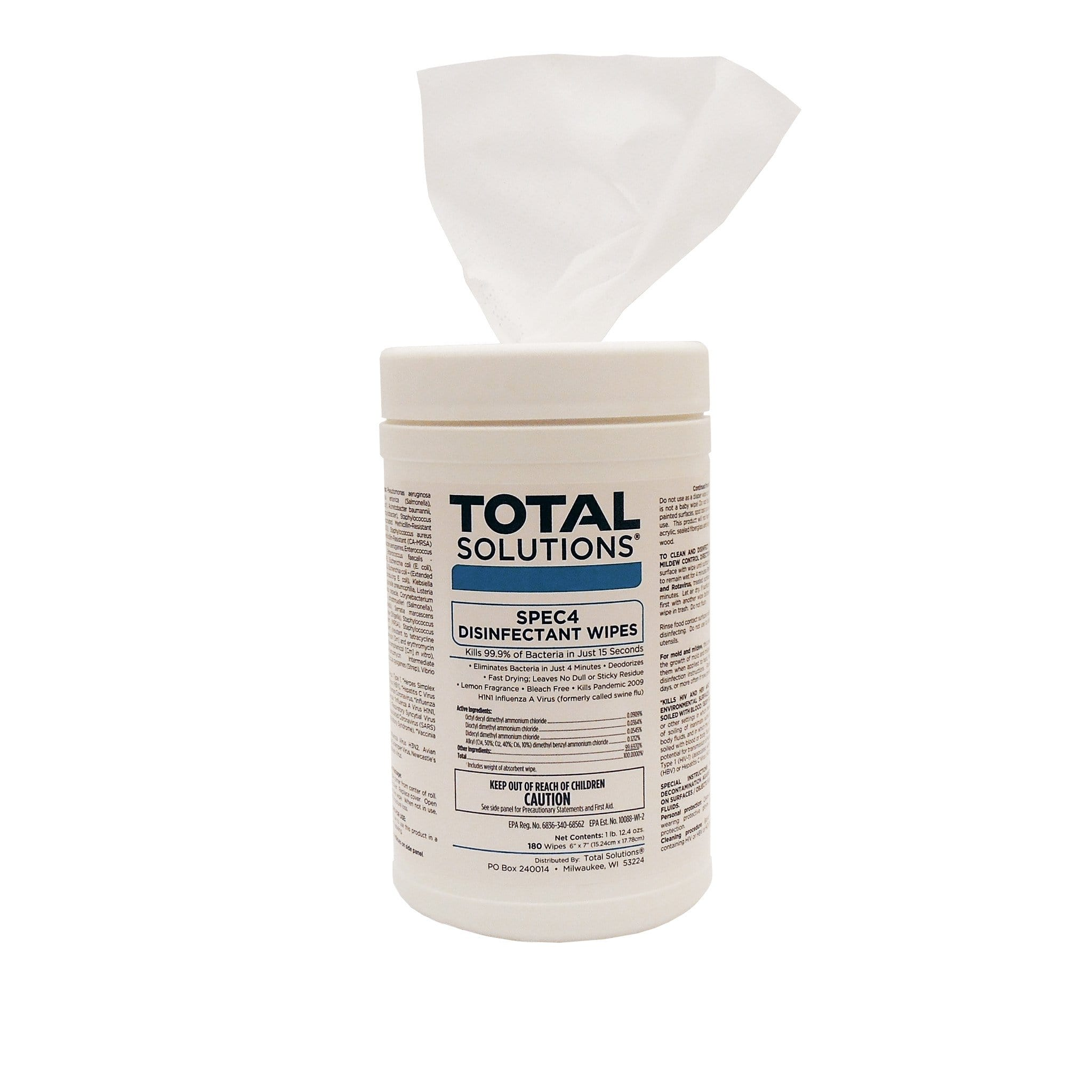SPEC4 Disinfectant Wipes