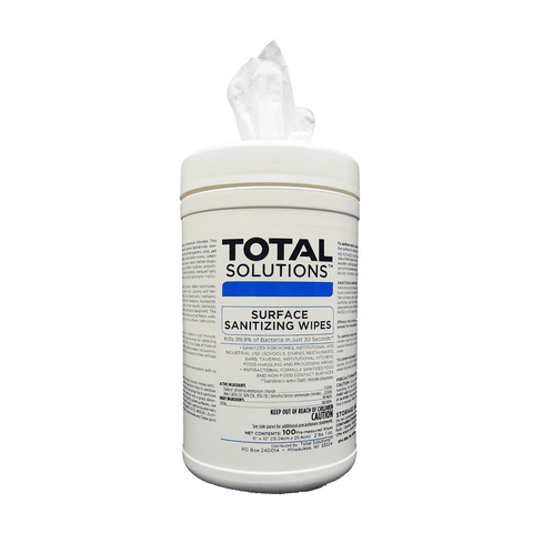 TS Surface Sanitizing Wipes