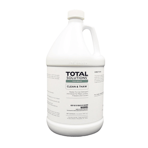 Clean & Thaw- Detergent and deicer for meat lockers, freezers and coolers