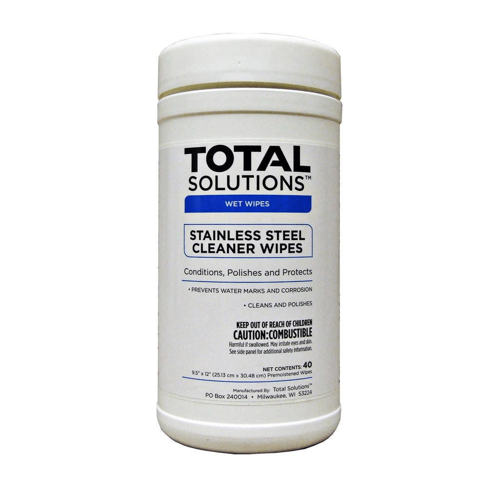 TS Stainless Steel Cleaner Wipes