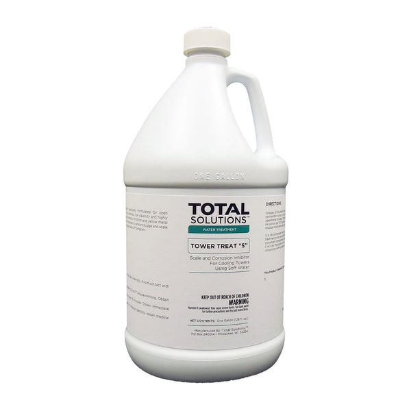 "Tower Treat ""S"" - Scale and corrosion inhibitor for soft water"