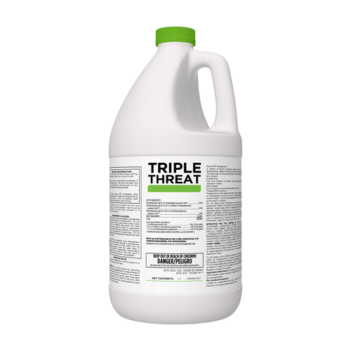 TRIPLE THREAT Selective Herbicide for Lawns & Turf