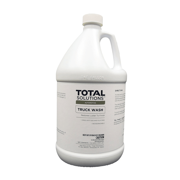 Truck Wash, Formulated for high pressure equipment