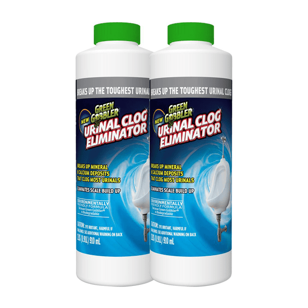 Green Gobbler Powdered Urinal Clog Eliminator