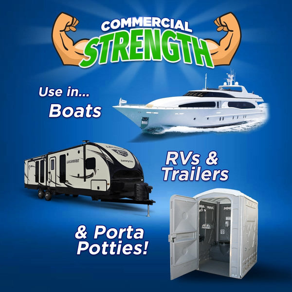 Green Gobbler RV, Marine & Porta Potty Treatment