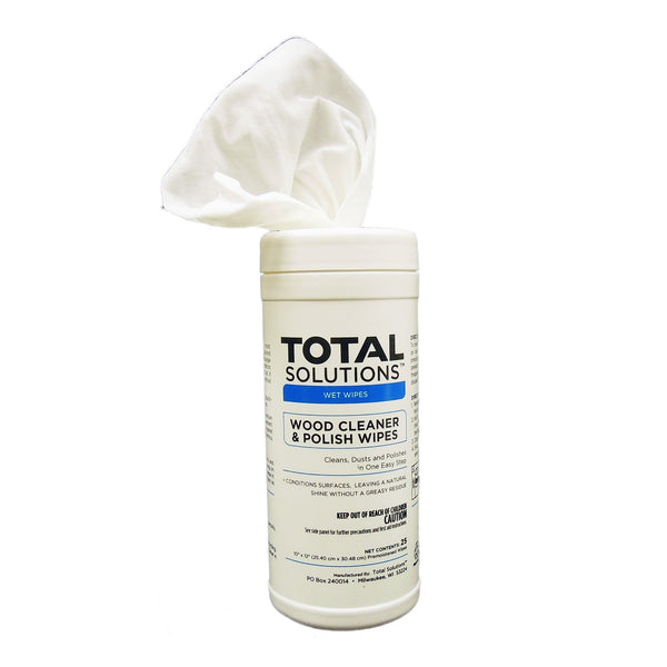 Total Solutions Wood Cleaner & Polish Wipes