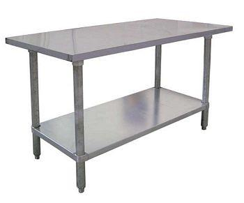 Work table 8ft stainless steel