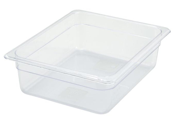 Food Pan Clear - Half Size 4""