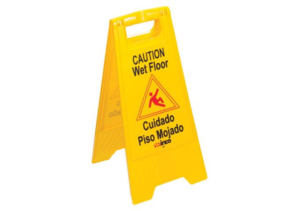 wet floor sign fold out