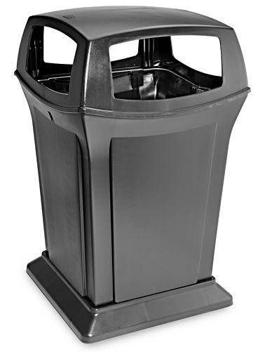 45 gallon Black - Outdoor Trash Can