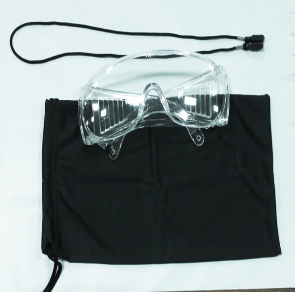 Safety Glasses Kit With Cord and Case EA