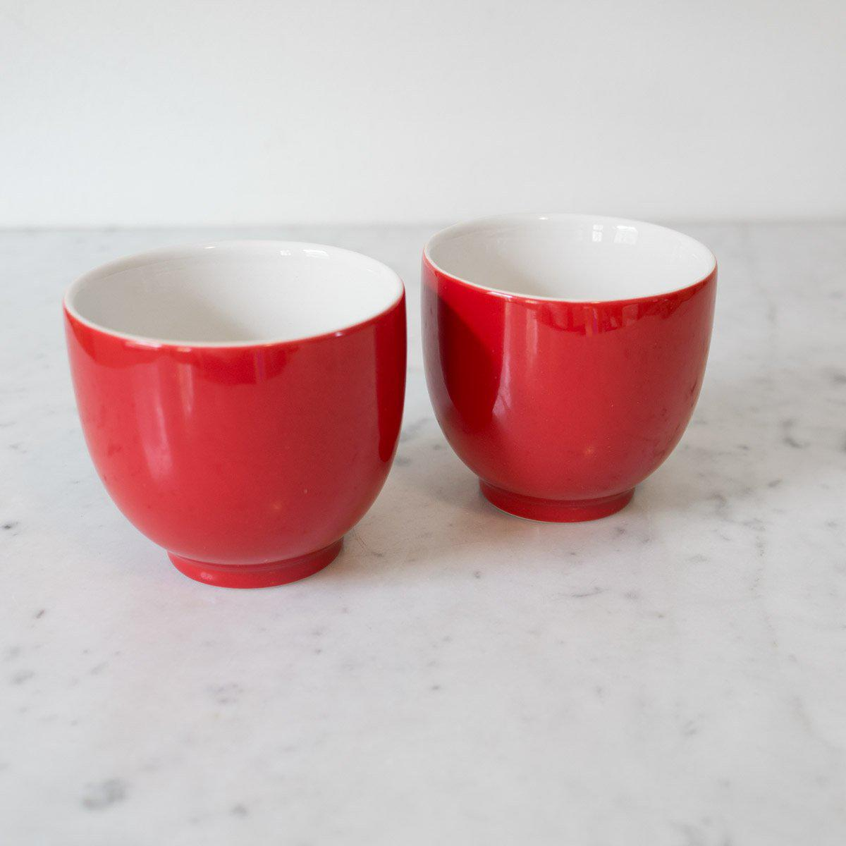 Little Red Tea Cups