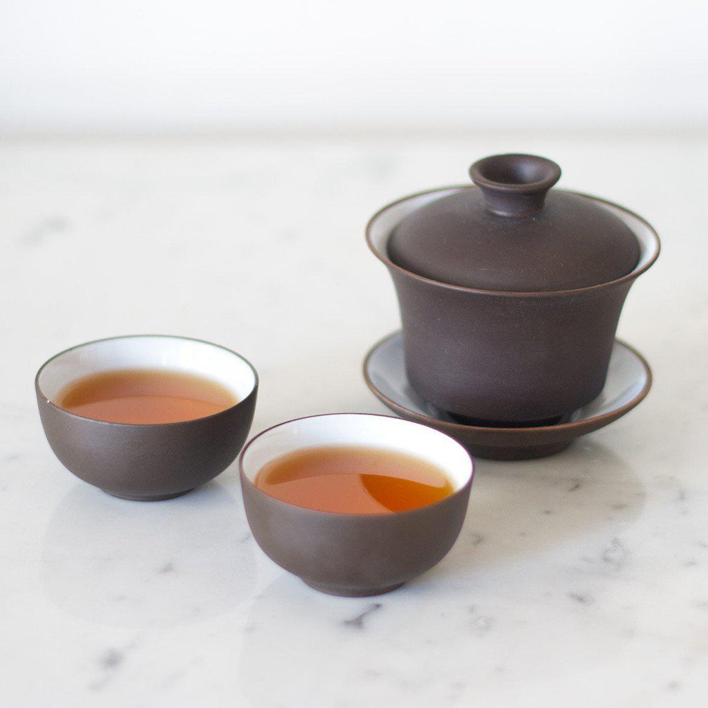 Gaiwan Gift Set - Organic & Fair Trade -  Little Red Cup Tea Co.