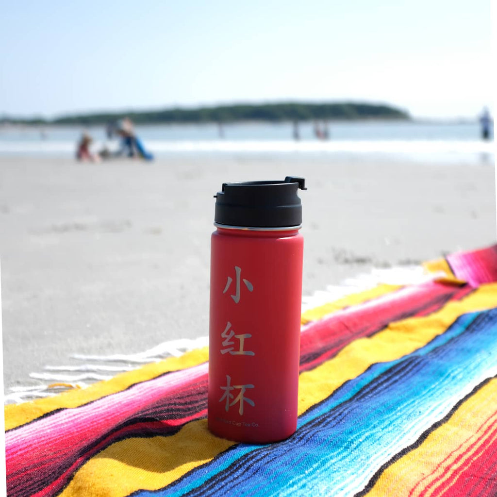 Stainless Tea  Bottle - Organic & Fair Trade -  Little Red Cup Tea Co.