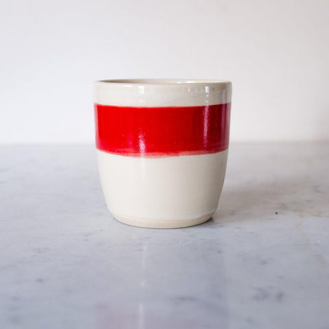 Little Red Cup Ceramic Tumbler
