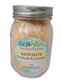 Patchouli & Lavender Bath Salts