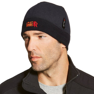 Energy Strong - Ariat FR Flame Resistant Polartec Beanie with Energy Strong Icon Logo