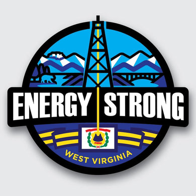 Energy Strong West Virginia Decal