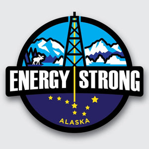 Energy Strong Alaska Decal