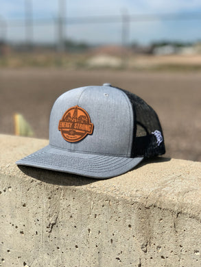 Energy Strong New Mexico - Leather Patch Hat