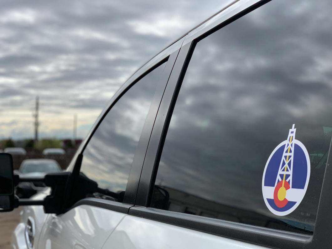 Energy Strong Colorado Icon Truck Decal