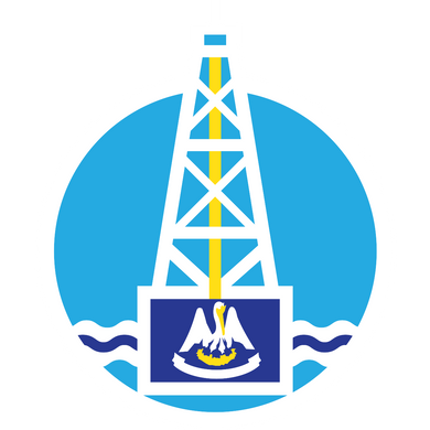 Energy Strong Louisiana Icon Decal