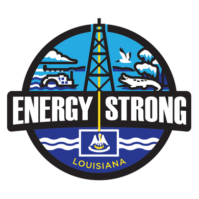 Energy Strong Louisiana Truck Decal