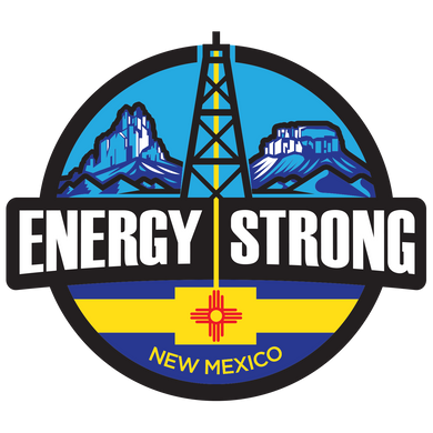 Energy Strong New Mexico Truck Decal