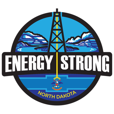 Energy Strong North Dakota Decal