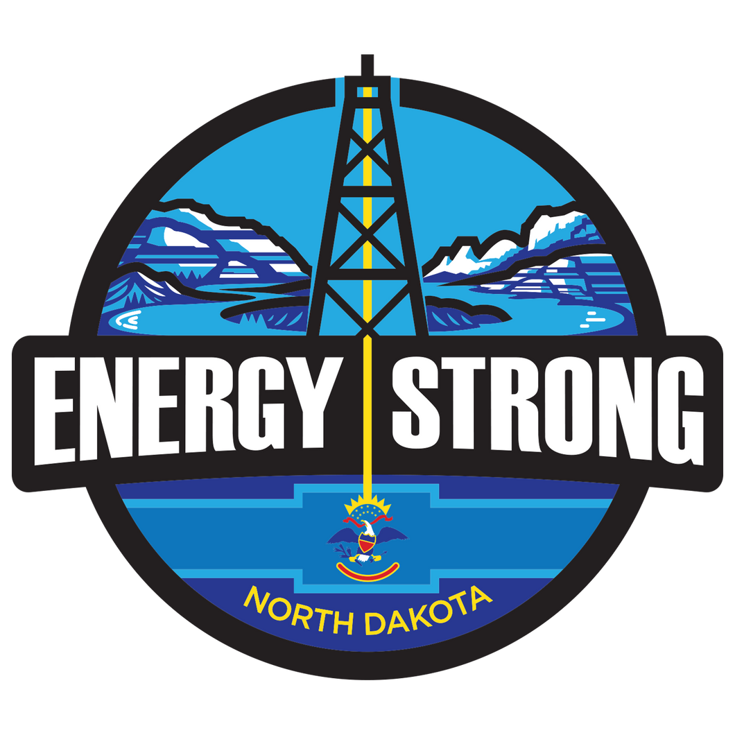 Energy Strong North Dakota Truck Decal