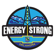 Load image into Gallery viewer, Energy Strong Oklahoma Decal