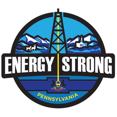 Energy Strong Pennsylvania Decal