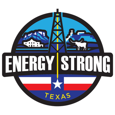 Energy Strong Texas Decal