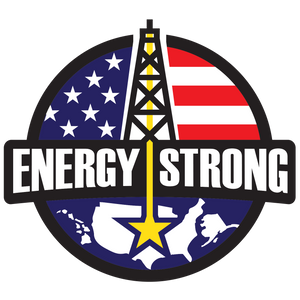 Energy Strong USA Truck Decal