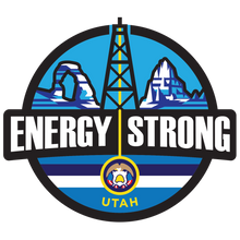 Load image into Gallery viewer, Energy Strong Utah Truck Decal