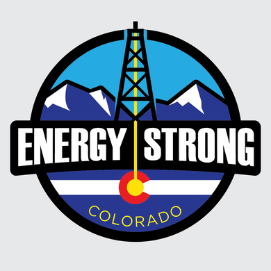 Energy Strong Colorado Decal