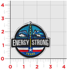 Energy Strong Texas - Iron On Patch