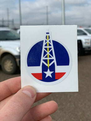 Energy Strong Texas Icon Decal