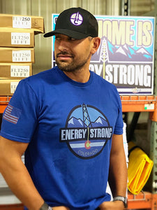 Energy Strong Colorado T-Shirt with Flag Sleeve