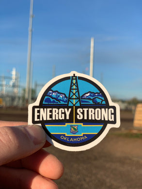 Energy Strong Oklahoma Decal