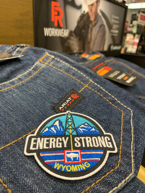 Energy Strong Wyoming - Iron On Patch